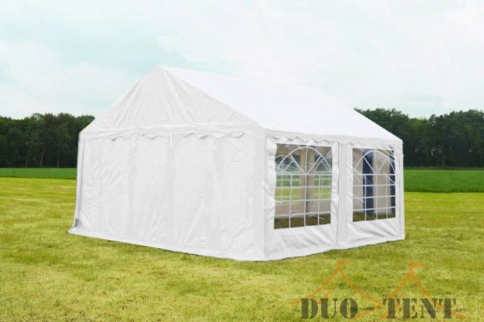 Partytent 5x4 Classic brandvertragend PVC - Wit