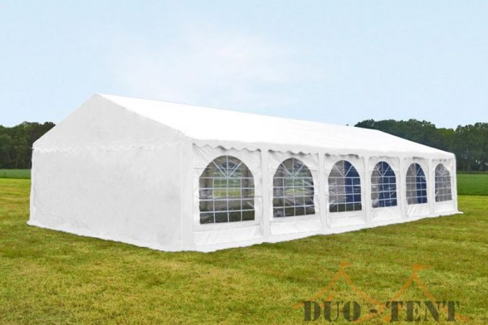 Partytent 5x12 Classic brandvertragend PVC - Wit