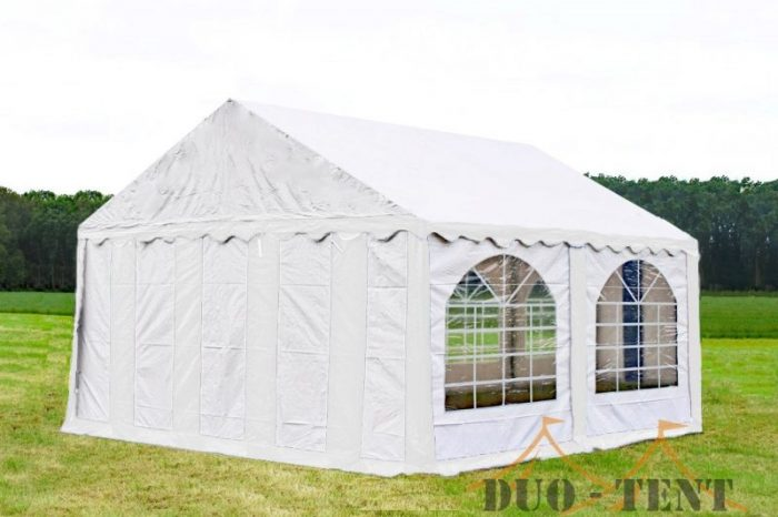 Partytent 5x4 Premium brandvertragend PVC - Wit