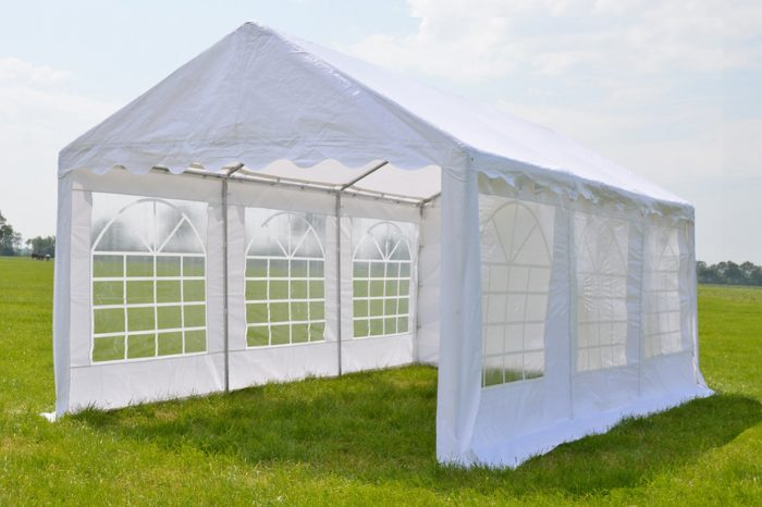 Partytent 4x6 Classic PE - Wit