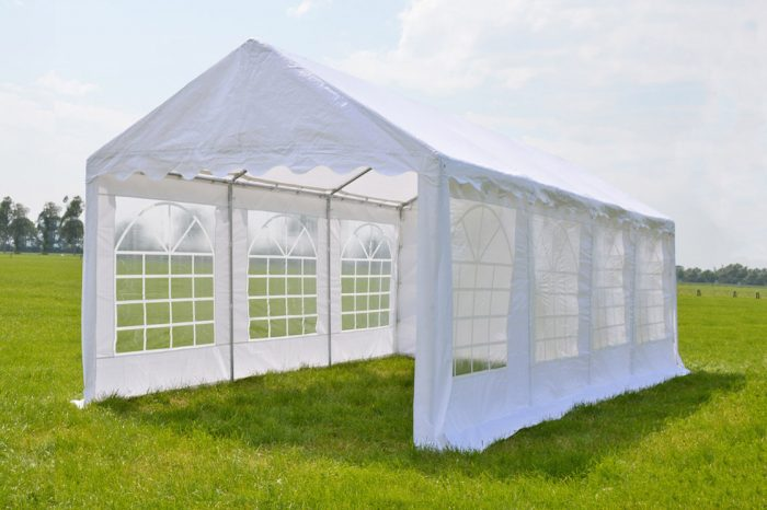 Partytent 4x8 Classic PE - Wit