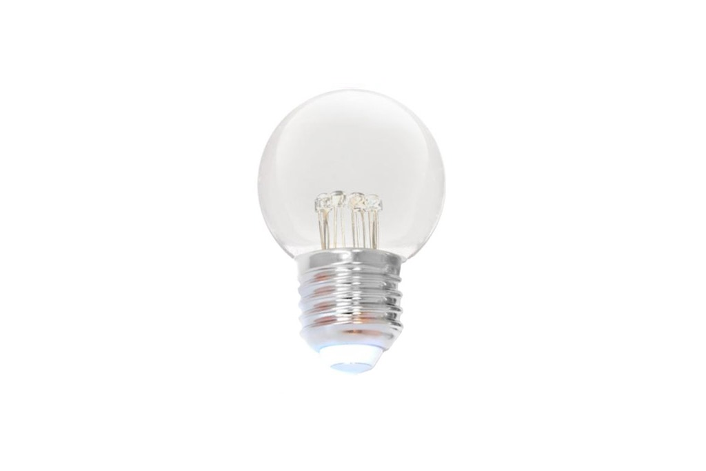 LED Lampe Transparent Extra Warm Weiss E-27 Fassung 0,7